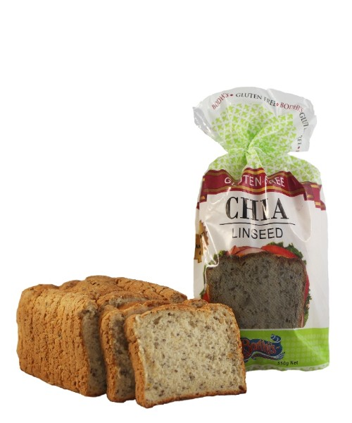 Chia Linseed Loaf Gluten Free 550g