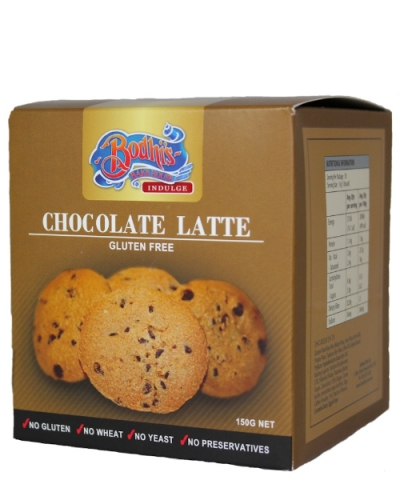 Gluten Free- Chocolate Latte Cookies 150g