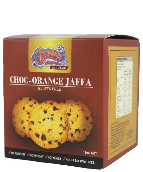 Gluten Free - Chocolate Orange Jaffa Cookie 150g