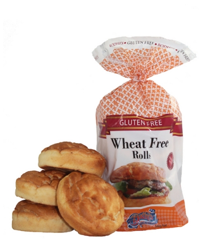 Gluten and Wheat Free Rolls – 4pkt