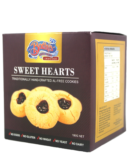 Sweetheart Cookie Tray (Al-Free) 180g