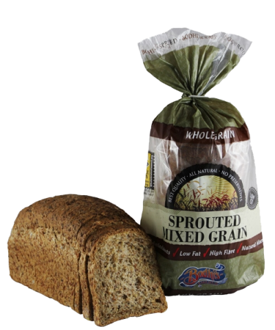 Sprouted Mixed Grain Bread