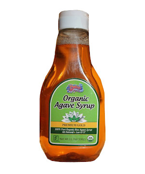 Organic Agave Syrup Premium Gold 330g
