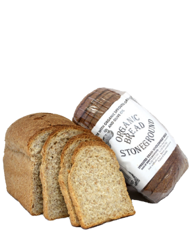 Organic Stoneground Bread 680g