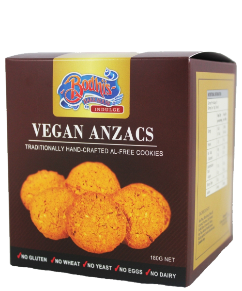 Vegan Anzac Cookie Tray (Al-Free) 180g