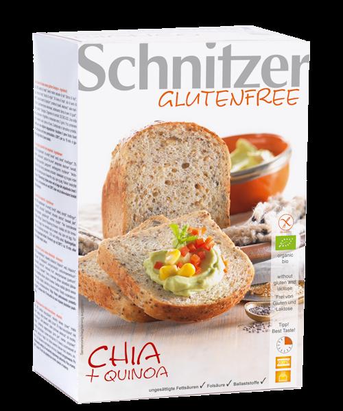 Schnitzer Gluten Free Organic Chia and Quinoa