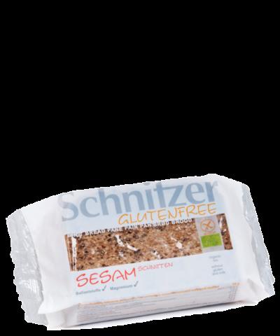 Schnitzer Gluten Free Organic Sesam Schnitten
