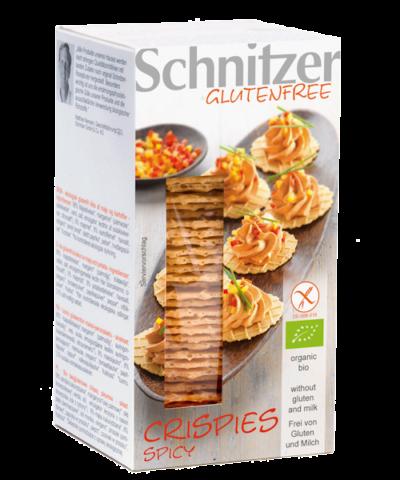 Schnitzer Gluten Free Organic Spicy Crispies