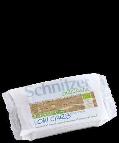 Schnitzer Organic & Wholegrain Low Carb Schnitten Bread