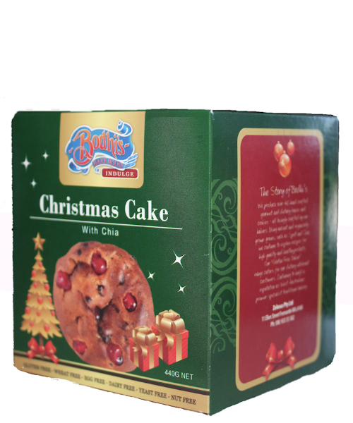 Gluten Free - Christmas Cake 440g