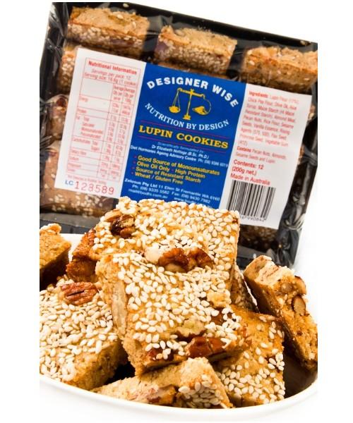 Gluten Free Lupin Cookies (Designer Wise)