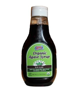 Organic Agave Syrup Raw Dark 330g