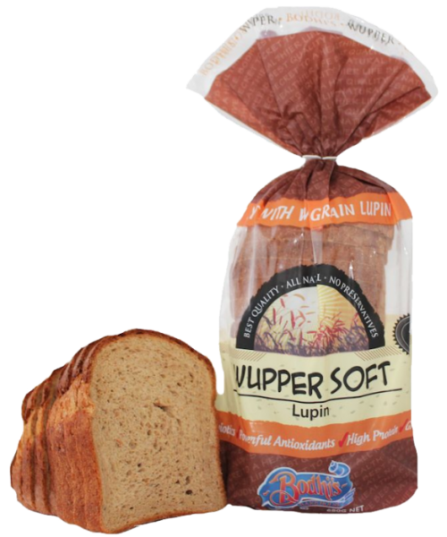Wupper Soft Lupin Soft Bread