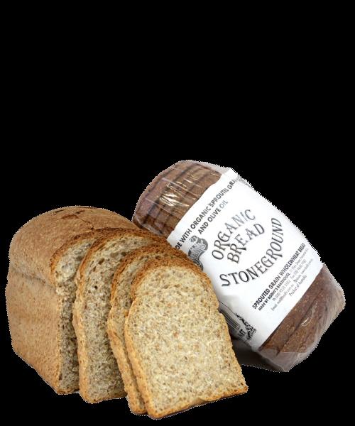 Organic Stoneground Bread 680g
