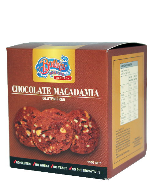 Gluten Free Chocolate Macadamia Cookie 150g