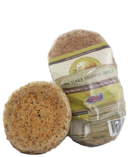 Low Carb Muffin Rolls 4pk