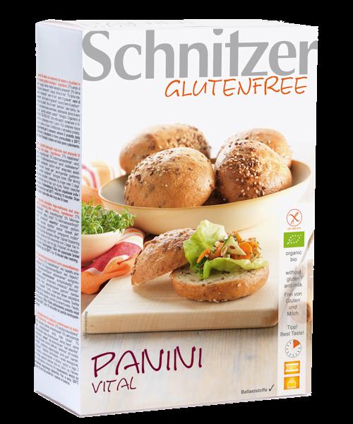 Schnitzer Gluten Free Organic Panini Vital Rolls