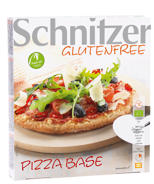 Schnitzer Gluten Free Organic Pizza Base