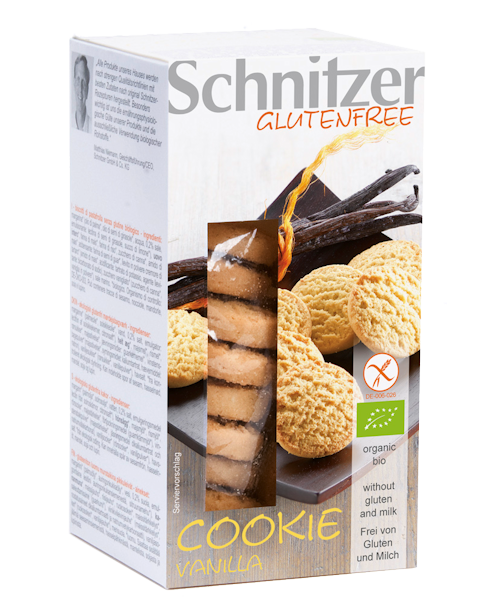 Schnitzer Gluten Free Organic Vanilla Cookie